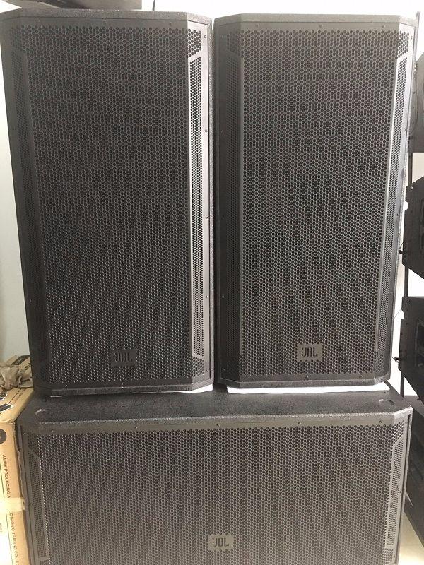 Loa JBL STX 825 thích hợp khi kết hợp với SUB JBL 828s